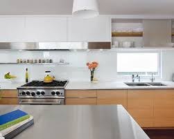glass backsplashes for kitchens white glass backsplash houzz