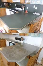 Kitchen Countertops Laminate by Best 25 Diy Concrete Countertops Ideas On Pinterest Concrete