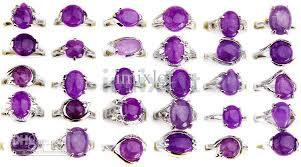 fashion gemstone rings images 2018 fashion jewelry natural stone ring amethyst gem rings fashion jpg