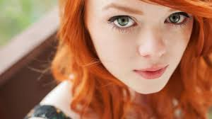 Suicide Girl Annalee - women redhead eyes tattoo hat wallpaper and background