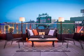 outdoor spaces fenway park views outside venues