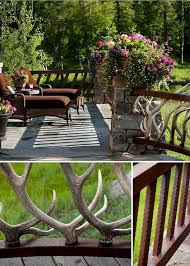 Outdoor Banister 20 Creative Deck Railing Ideas For Inspiration Hative