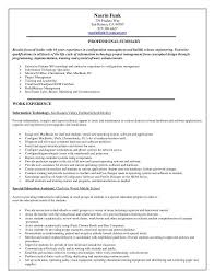 Booz Allen Help Desk Phone Number Configuration Management Resume Professional Configuration