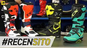 ufo motocross boots tcx comp evo michelin recensione stivali enduro youtube