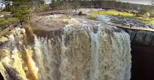 noccalula falls christmas lights 2017 flash flood makes alabama s noccalula falls look more like niagara