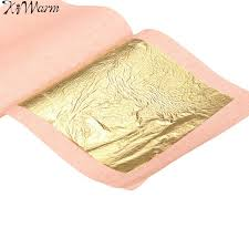 where to buy edible gold leaf kiwarm hot sale 10sheets 24k genuine edible gold leaf foil