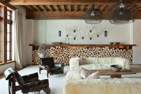 firewood wall storage ideas for the modern home