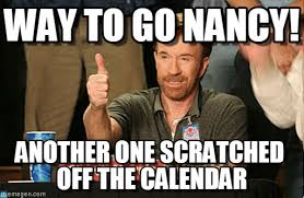 Nancy Meme - way to go nancy chuck norris approves meme on memegen