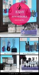 easy diy storage ideas kayak pool spy diy glamour easy and affordable beauty storage ideas