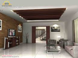 Interior Decorated Homes Recently Beautiful 3d Interior Designs Kerala Home Design And