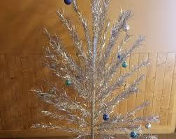 vintage aluminum christmas tree aluminum christmas tree etsy