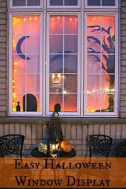 halloween window decor if you want something that really stands