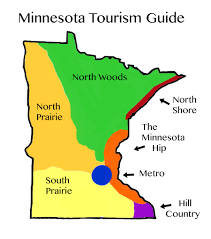 Minneapolis Metro Map by Tourism Map For Minnesota Where To Go For Your Next Adventure