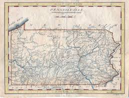 Map Of Cedar Falls Iowa 1810 U0027s Pennsylvania Maps