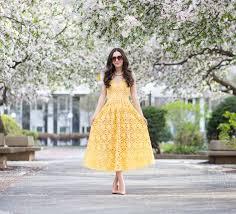 yellow lace dress dressed up deniz