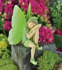green moth boy garden pixie boy sprite