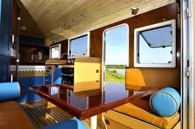 modern interior homes retro modern homes on wheels with spacious interior design and