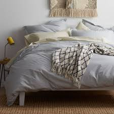 Silver Duvet Cover Percale Duvet Covers The Company Store