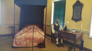 the mannequin challenge a visit to the john dickinson plantation interior of master bedroom contains 18th century furniture and a mannequin of pompey an enslaved worker at the dickinson plantation