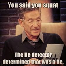 Quit Lying Meme - to all the gym goers who skip out on lower body work outs quit