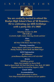 high school reunion invitations the class of 68 reunion roslyn high school class of 1968