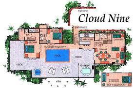 vacation home floor plans cloud nine floor plan vacation home rentals on st