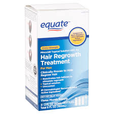 Hair Growth Products At Walmart Equate Extra Strength Minoxidil Hair Regrowth Treatment For Men 3