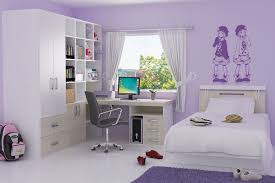 Purple And Blue Bedroom - Small bedroom designs for teenagers