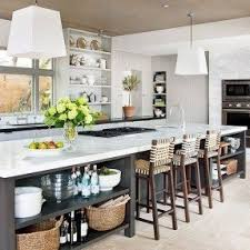 kitchen island with shelves bar stools for kitchen islands foter