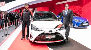 toyota yaris grmn hatch the first of many gazoo racing models
