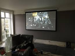 install ceiling mount projector screen integralbook com
