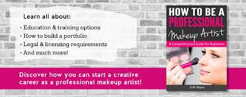 How To Be A Professional Makeup Artist Home Colorista Books