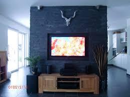 steinwand wohnzimmer tv hausdekorationen und modernen möbeln kühles tv wohnzimmer
