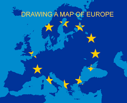Map Of Eurpoe Drawing A Map Of Europe Part 2 Flags Drawing Youtube