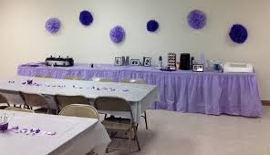 bridal shower centerpiece ideas purple and grey bridal shower ideas seeing