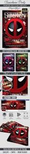 superhero party u2013 flyer psd template facebook cover u2013 by