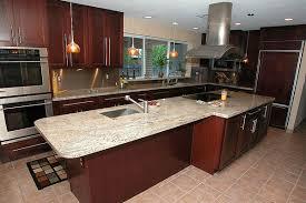 Oak Kitchen Cabinets Granite Countertops Ideas  Designer Kitchen - Kitchen cabinets and countertops ideas