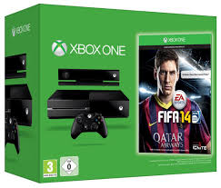 xbox one console with kinect amazon in video games xbox one console with kinect and fifa 14 amazon co uk pc u0026 video