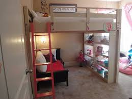 Loft Bed Plans Free Dorm by Ana White Queen Loft Bed Diy Projects