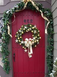 Christmas Door Decorating Contest Ideas The Attractive Christmas Door Decorations Cement Patio