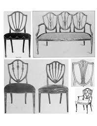 mystery of design the elegant hepplewhite u201cshield back u201d chair