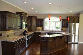 Kitchen Island Dimensions With Seating by Kitchen Island With Bar Seating Alder Cabinets Beautiful Black