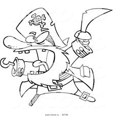 pirate themed colouring book angry cat sword coloring page ship