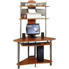 home office desks Corner Computer Tower Desk