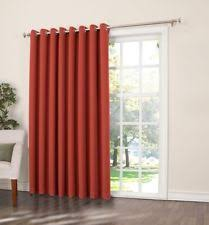 Double Wide Grommet Curtain Panels Extra Wide Curtains Ebay