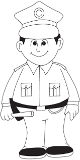 policeman driving popular police coloring pages coloring book