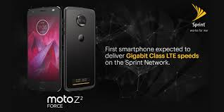 only from sprint lease two moto z2 force edition for the price of