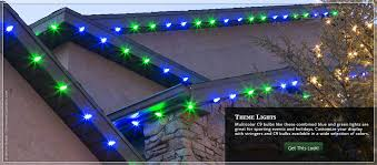 ge led christmas lights c9 led christmas lights strings blue and green themed roof ge light