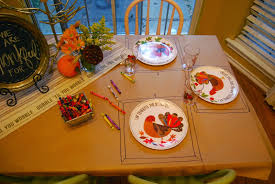 pottery barn kids thanksgiving momfessionals kids table