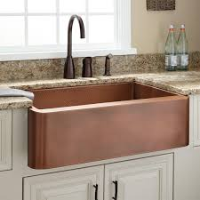 Kitchen Faucet Copper by Sinks Three Holes Bronze Kitchen Faucet On Granite Countertop For